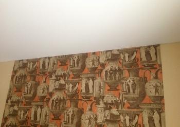 Фото натяжных потолков №Установка натяжного потолка в квартире в г. Фрязино