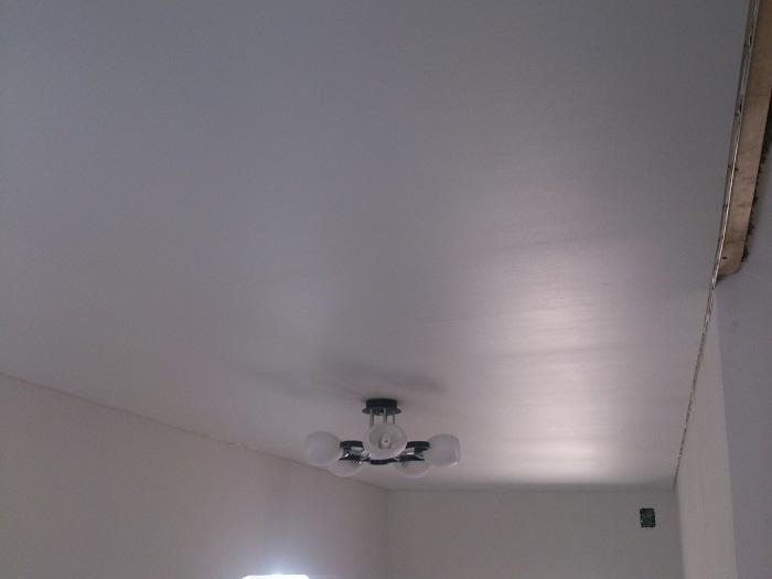 Фото натяжных потолков №Матовый потолок в холле