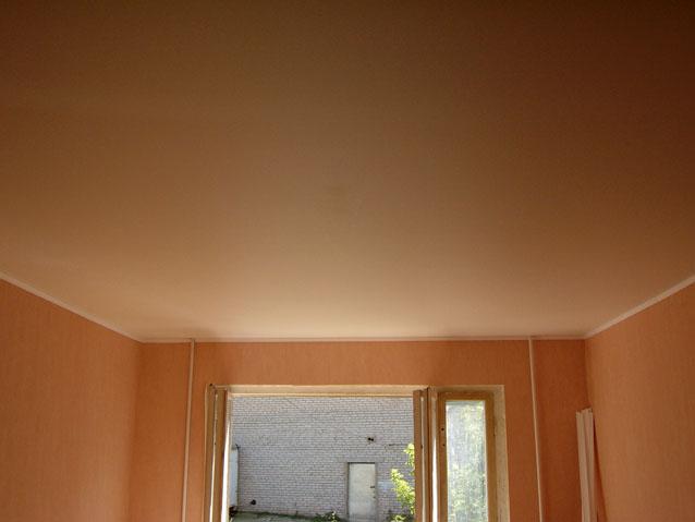 Фото натяжных потолков №цветной матовый потолок
