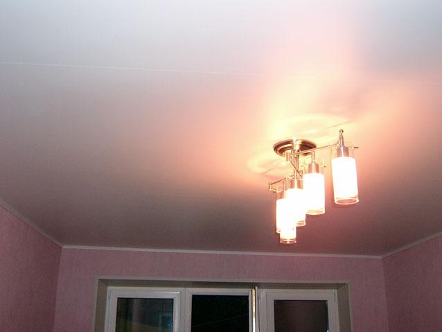 Фото натяжных потолков №натяжной потолок в комнате г Климовск