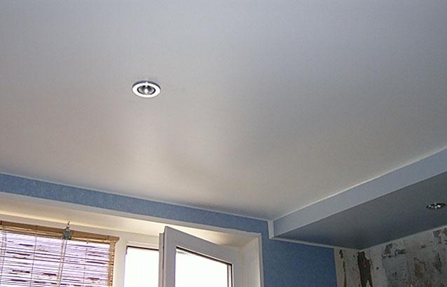 Фото натяжных потолков №матовые потолки в комнате