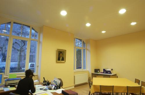 Фото натяжных потолков №Натяжные потолки для офиса