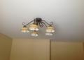 Фото Натяжной потолок в спальной комнате