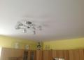 Фото Изготовление и монтаж натяжного потолка на кухне