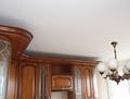Фото матовый натяжной потолок в комнате