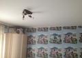 Фото Белый натяжной потолок в гостиной