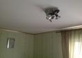 Натяжной потолок, белый, матовый в спальне