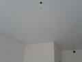 Белый матовый натяжной потолок из пленки ПВХ
