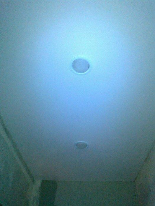 Фото натяжных потолков №Матовый потолок в коридоре