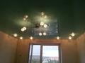 Темно зеленый глянцевый потолок
