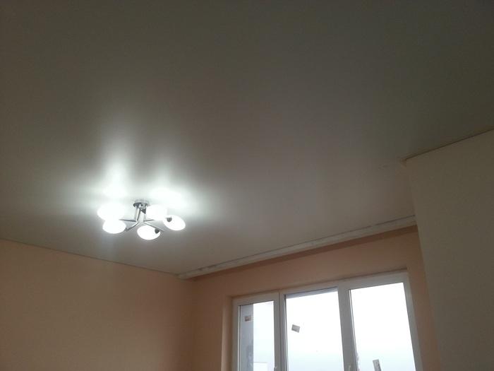 Фото натяжных потолков №Тканевый потолок в юао